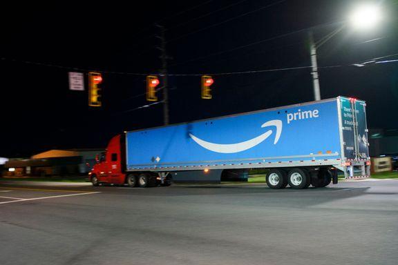 Amazon innrømmer at sjåfører kan måtte tisse på flaske