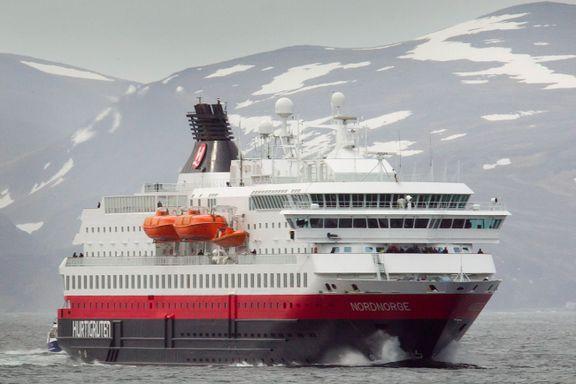 Hurtigruten nektes å seile i russisk farvann