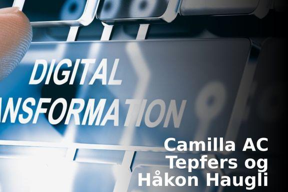 Smerten ved digital endring er umiddelbar. Gevinsten kommer på sikt