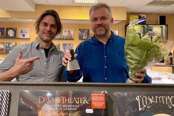 Vinylsjappe i Oslo får gjev pris