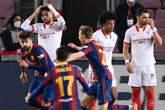 Barcelona til finalen i Copa del Rey etter overtidsdrama
