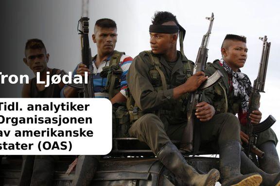 Norsk fredsmegling er medskyldig i Columbias tragedie