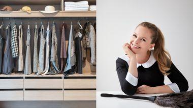 Ekspertens beste tips: Slik blir klesskapet ditt ryddig – for alltid.