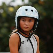 OL-aktuell 11-åring fraktet til sykehus i helikopter etter stygt fall. Nå har hun en klar melding til fansen.