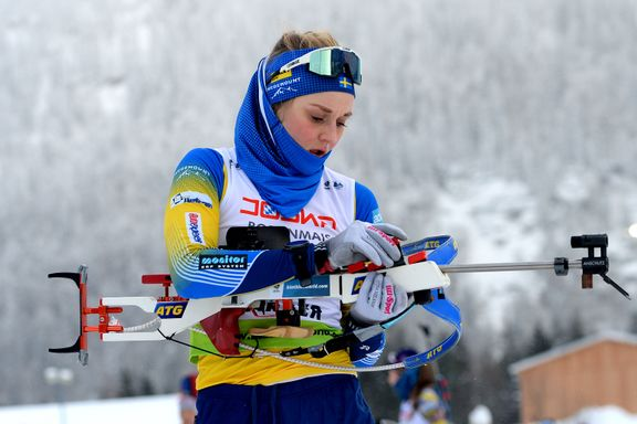 Stina Nilsson langt bak - norsk EM-sølv