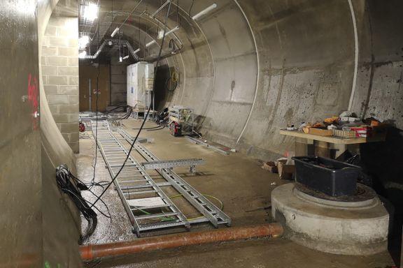 Den 20 km lange tunnelen får landets beste mobildekning