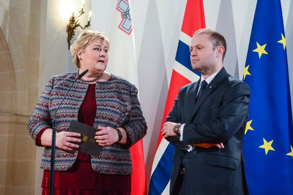 Statsministerens kone ble knyttet til skatteparadis. Nå håper Muscat på gjenvalg i Malta.