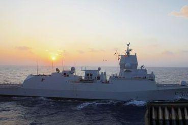 Dette er fregatten som havarerer i Hordaland