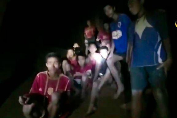 Overlevde ved å drikke vann fra taket i grotten
