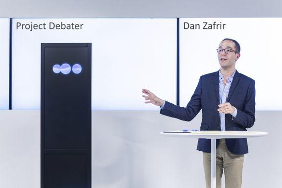 AI utfordret menneske i debatt – resultatet overrasker