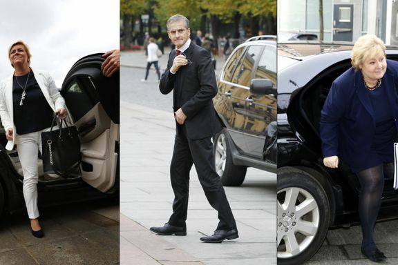 Denne bilen vil politikerne at du skal velge. Og dette kjører de selv
