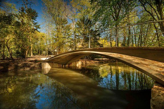 Vebjørn Sand åpner enda en bro. Denne gangen i Leonardo da Vincis egen hage.