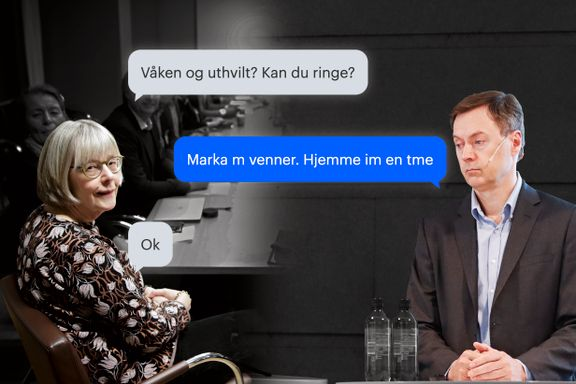 21. juni sendte Helse-Norges mektigste kvinne en SMS til industrilobbyisten. Slik startet spillet som åpnet grensene til Norge.