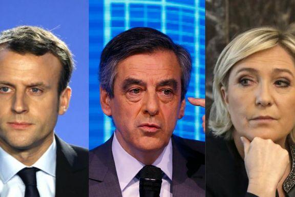 En av disse kan bli Frankrikes neste president. Bare én er ikke involvert i skandaler.