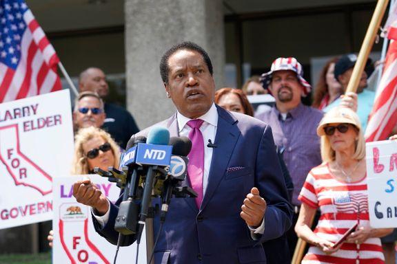 Liberale California kan få en erkekonservativ guvernør. – Katastrofalt for demokratene