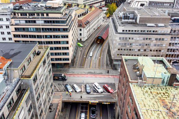 I tre år skal denne veien holdes stengt. Slik vil det påvirke Oslo sentrum.