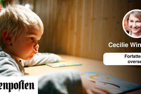 Sakprosa for barn er trolig den viktigste sjangeren for gutters leseferdigheter. Nå er den utryddingstruet   Cecilie Winger
