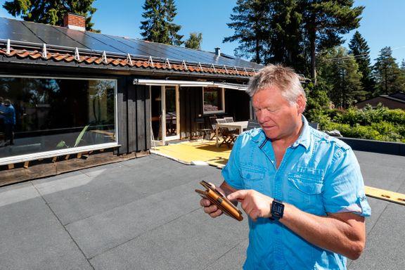 Han gikk 500 i pluss på siste strømregning. Nå kan solceller på taket gi bedre rente enn banken.