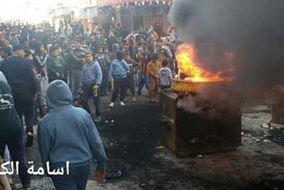 Palestinere i Gaza demonstrerte, men ikke mot Israel. Svaret var kontant.