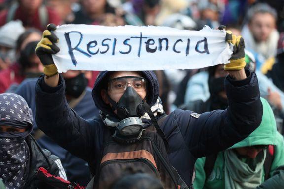 Massiv streik og store demonstrasjoner i Colombia