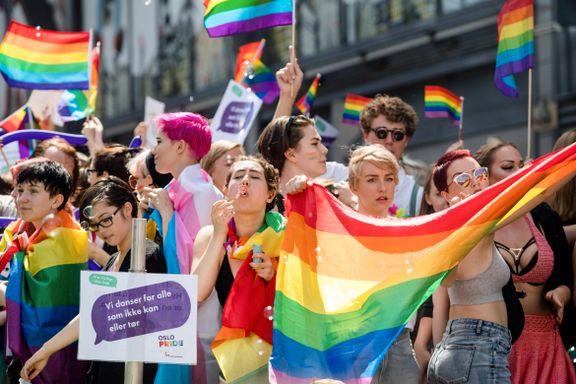 Aftenposten mener: Det er fortsatt behov for Pride