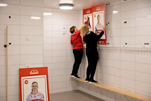 Her havner Sandviken-damene på veggen igjen