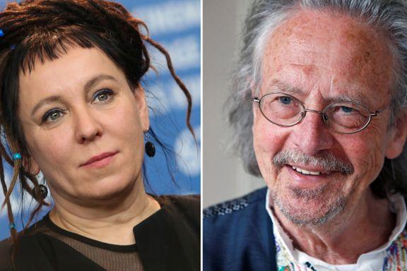 Olga Tokarczuk og Peter Handke. – Skuffende med kun europeiske forfattere