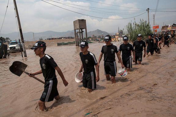 Dødstallet stiger under flommen i Peru