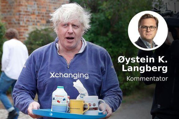 Skriver gode bøker, kan latin og har Churchill som forbilde. «Boris» er ingen «Mini-Trump»