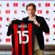 Milan-klare Hauge: – En uke jeg ikke vil glemme noen gang