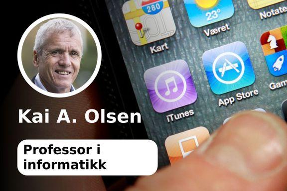 Vær appmerksom - den digitale verden kan være farlig