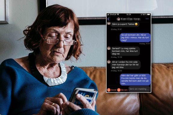 Randi (87) ble lurt på Vipps: – Kan være en ny og utspekulert svindelmetode