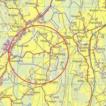 Se på dette kartet. Det viser noe ganske unikt i Kommune-Norge.