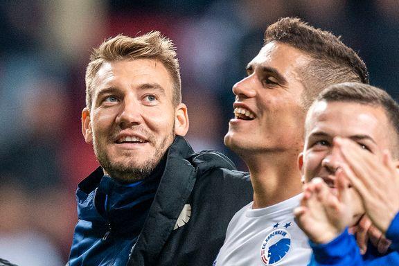 Bendtner åpnet scoringskontoen i København