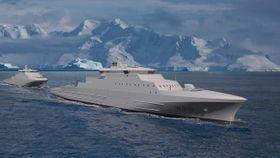 Russiske oligarker får ansvaret for service og reservedeler til norske kystvaktskip
