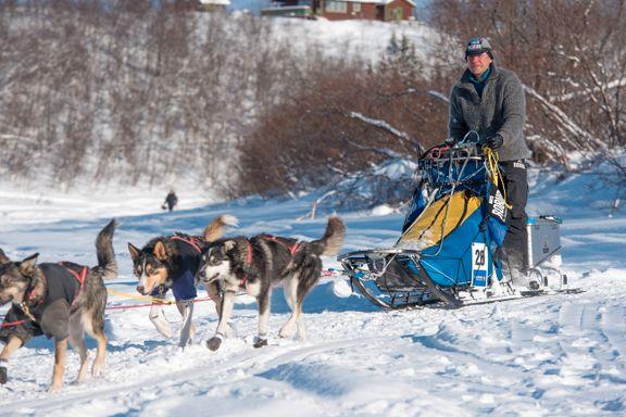Tispe med løpetid skapte trøbbel i Finnmarksløpet