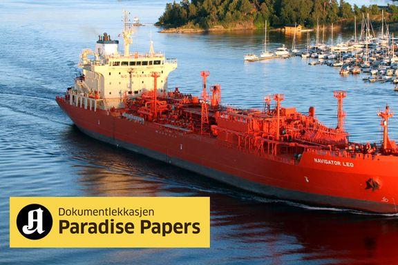 I oktober kom skipet med russisk gass til Norge. Det knytter USAs handelsminister til Putins innerste krets.