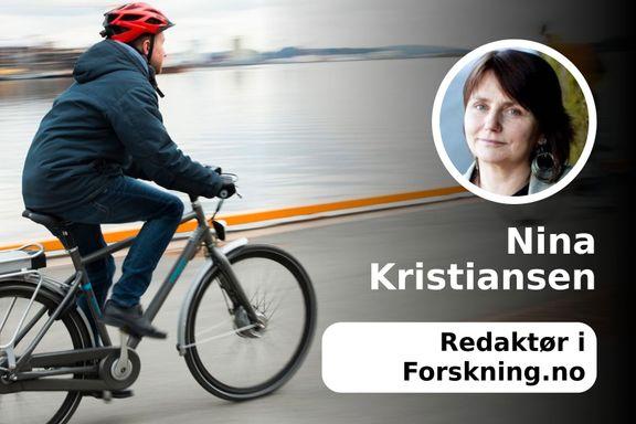 Slutt å klage på el-syklistene!