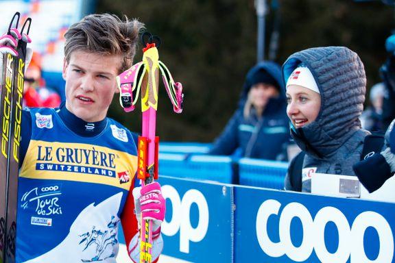 Så mye tjente Klæbo og Østberg på Tour de Ski-suksessen
