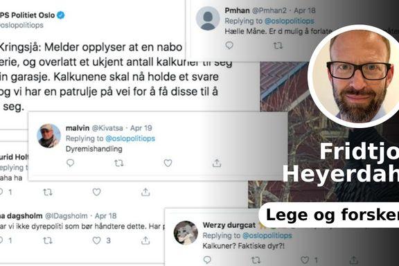 Ønsker vi egentlig et politi som bruker sosiale medier som en ukritisk fjortis?