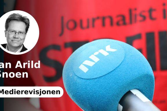 Etter streiken kan NRK glede seg over befolkningens tiltro til medier som dem. Men kanskje også bekymre seg...