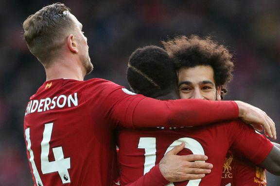 Liverpool slapp med skrekken mot bunnlaget