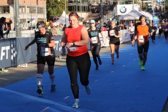 Må stryke flere tusen navn i Oslo Maraton