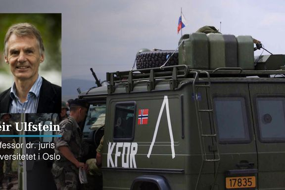 Kronikk: Ti teser om folkeretten   Geir Ulfstein