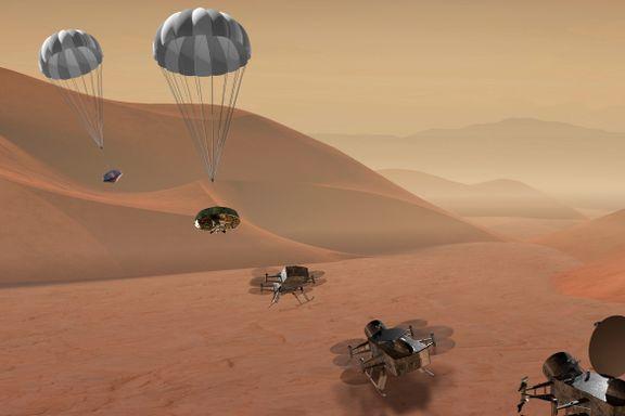 NASA sender drone til Saturns måne Titan