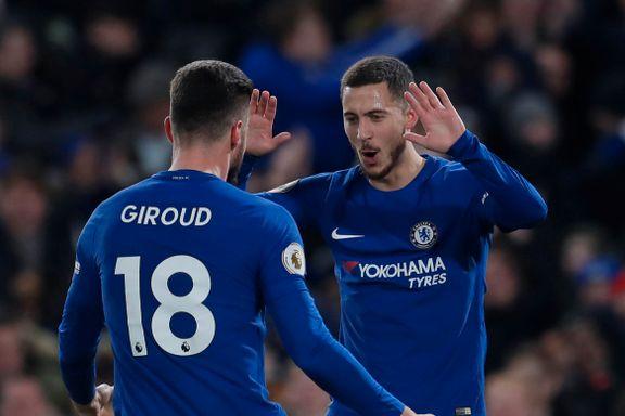Chelsea snudde vond trend da Hazard herjet med tabelljumboen
