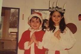 Foreldrene mine kommer fra Midtøsten, og som 5-åring fikk jeg være Lucia. Det var fantastisk.