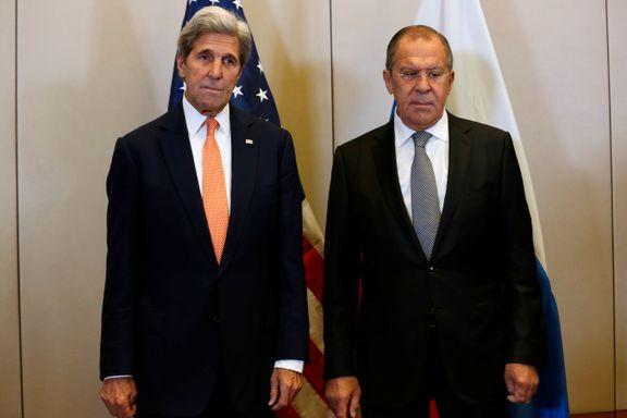 USA og Russland enige om våpenhvileavtale for Syria