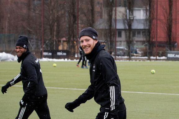 Her er RBK tilbake i trening på Lerkendal: – Man føler seg som et lite barn igjen