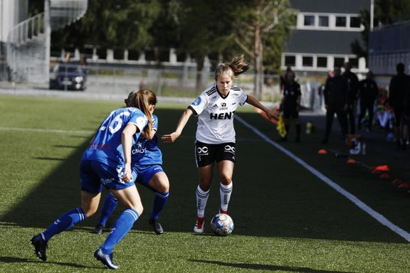 Enkel seier for Rosenborg-kvinnene i årets første kamp: – En deilig dag